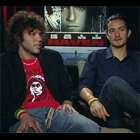 "VIDEO: Orlando Bloom and Frank E. Flowers, and their film ""Haven""-Main"
