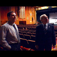 VIDEO: Senator Joe Lieberman visits the Warner Theatre in Torrington Connecticut-Main