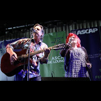 "VIDEO: ""X"" with John Doe and Exene Cervenka at the 2007 Tribeca ASCAP music lounge-Main"
