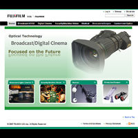 FUJINON ANNOUNCES SUCCESSFUL LAUNCH OF NEW WEBSITE-Main