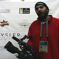 VIDEO: WireImage.com co-founder Justin Kahn and his new JVC HD100-Main