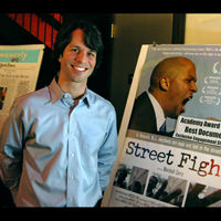 "VIDEO: Marshall Curry Oscar Nominated Director of ""Street Fight""-Main"