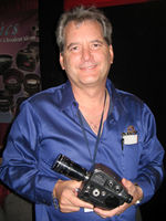 "Pro8mm demonstrates their ""MAX-8"" Super8 camera modification at the NY Cine Equipment Show-Body-2"