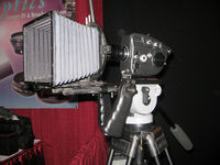 "Pro8mm demonstrates their ""MAX-8"" Super8 camera modification at the NY Cine Equipment Show-Body"